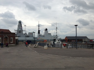 the dockyard has navy both old and new