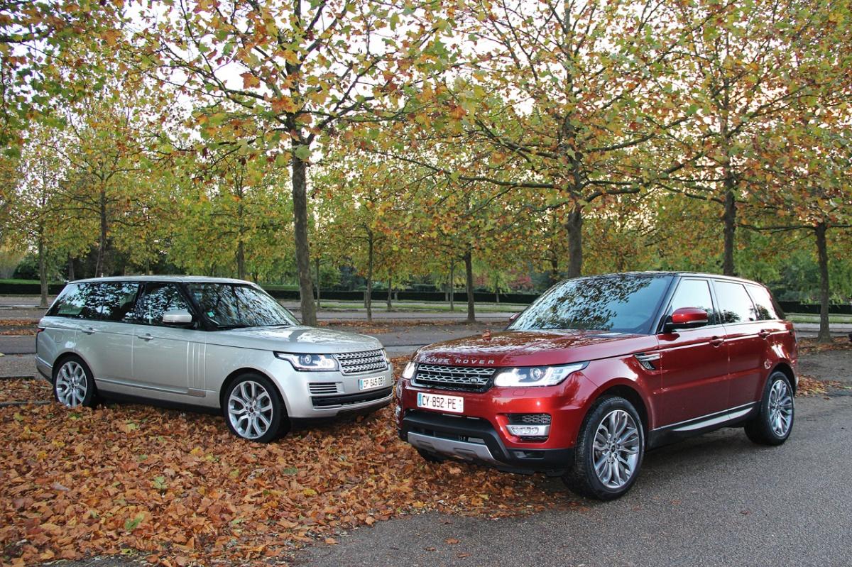 Range Rover Vs Land Rover - Range Rover Vs Range Rover Sport